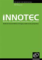 Ver Núm. 10 ene-dic (2015): INNOTEC